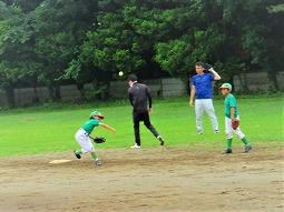 2021/06/05 午後(自働機)練習(内野ボール回し)